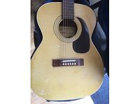 Harmony Acoustic Guitar & Case
