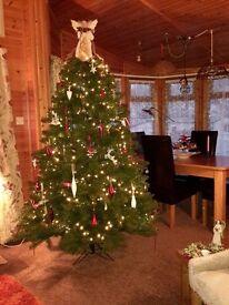 Green 7ft Highland Fir Christmas Tree - John Lewis