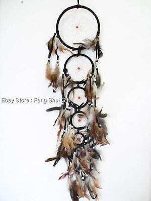 Long/Big Handmade Wall Hanging Feather Dream Catcher Decoration Ornament #J