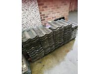 Roman roof tiles approx 100