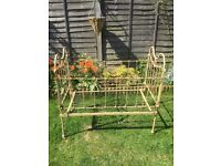 Old Victorian cot bed