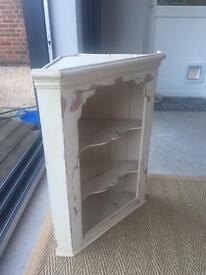 Corner wall unit hand painted