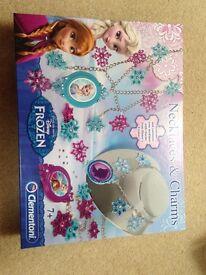 Clementoni Disney Frozen Necklaces & Charms- Brand New!!
