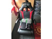Xbox one and gaming chair