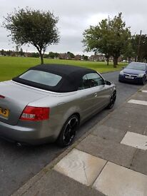 Audi A4 Convertable Stunning car, great wheels, low milage