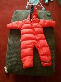 Snow suit 12-18 months