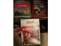 3 x new sealed Atari 2600 games
