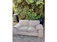 LARGE TWO SEATER SOFA,BEIGE