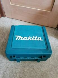 Makita drill carry case with storage