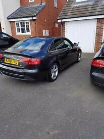 Audi a4 tdi sline..pearl lava grey...7mnths mot...fitted with all new breaks and discs