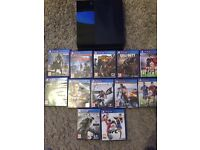 PS4 + 12 games