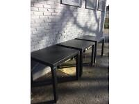 3 all weather outdoor tables