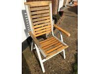 High quality cheap garden chairs x 6