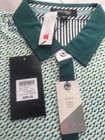 Crocodile Men's Designer Polo Shirt BNWT