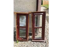 Hardwood Windows and Door; double glazed
