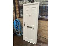 Composite door upvc