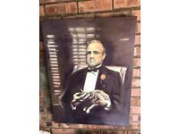 The Godfather large canvas £25ono