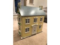 Dolls House, Furniture and Figures for sale