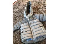 Baby Zara coat 6-9