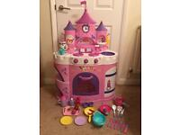 Disney Princess kitchen with sound
