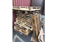Free wooden pallets for DIY etc.
