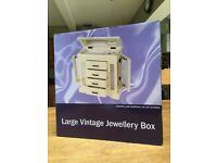 Large Vintage Jewellery Box - unopened and brand new