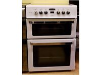Leisure Alta 60cm Ceramic Cooker, Double Oven/Grill ( Fan Assisted) - 6 Months Warranty