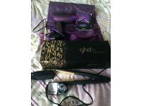 Genuine ghd straighteners, hairdryer & bag