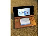 Nintendo 3DS (Coral Pink) with 7 premium games