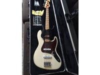 Fender US Standard Jazz Bass Olympic White