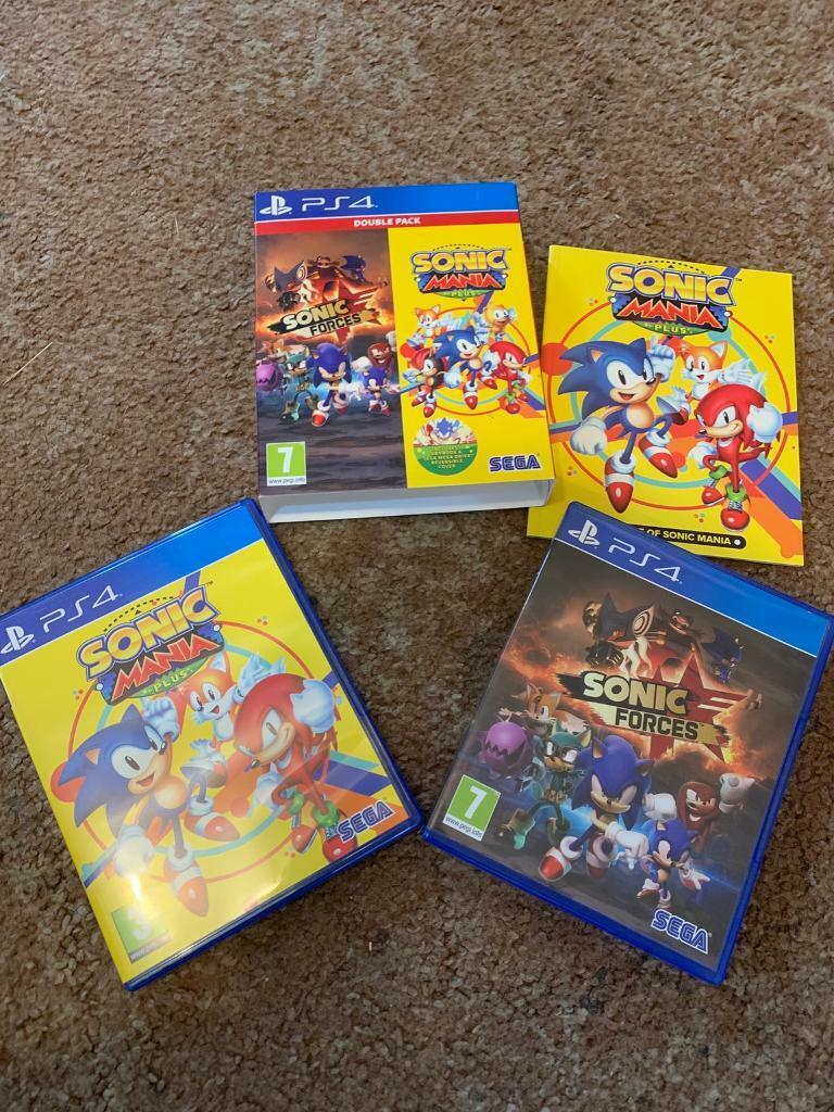 Sonic Mania & Sonic Forces PS4 | in Oakham, Rutland | Gumtree