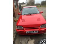 Escort Rs turbo s2 spares or repair / project