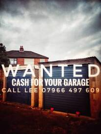 Wanted garage lockup or workshop