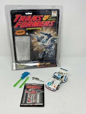 TRANSFORMERS G2 GENERATION 2 JAZZ! COMPLETE! LOOKS GREAT!