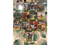 Old used Xbox games - job lot