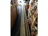 18.5 foot electric shutter with keys