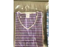 Stripe night shirt