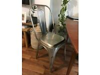 Tolix style metal Dining chairs Lombok (4 available)