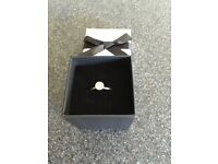 Diamond ring with receipt engagement xmas cost £899