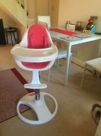 High Chair with 360' turn & 3 height adjustments