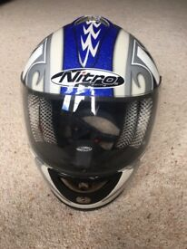 Nitro Motorbike Crash Helmet