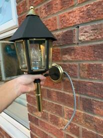 Old style lantern this is not a cheap 1 cost £79 never used brand new in box £25