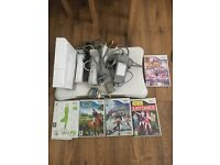 Wii Fit plus games and controllers