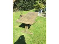 Swan Hattersley Teak Garden Table