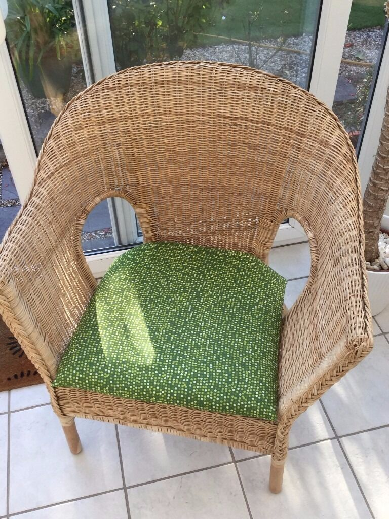 Wicker Ikea Chair Ideal For Conservatory 163 10 In