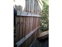 6ftx6ft overlap fence panel