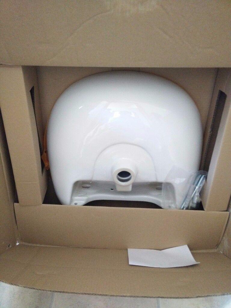 Wickes Newport ceramic basin for bathroom. Brand new | in Inverness ...
