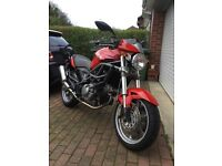 Cagiva Raptor 650cc. 2006 in Red (Excellent Condition) £2195