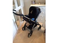 Silver Cross travel system, all parts accounted for, excellent condition, smoke & pet free home