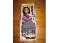 Regency Fine Arts fine porcelain Indian Doll